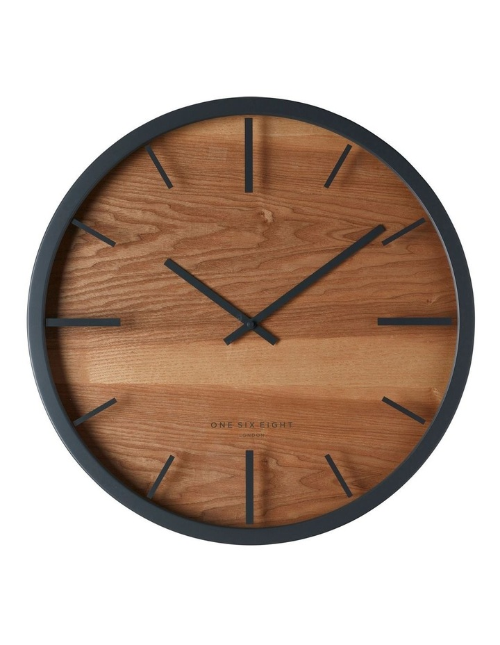 Willow Charcoal 50Cm Silent Wall Clock image 1