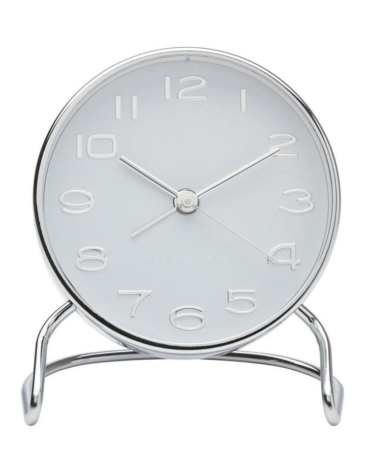 Isabelle White Silent Alarm Clock image 2