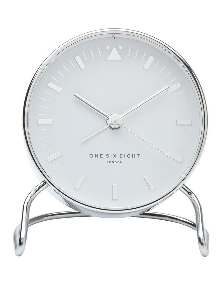 Lara White Silent Alarm Clock image 2