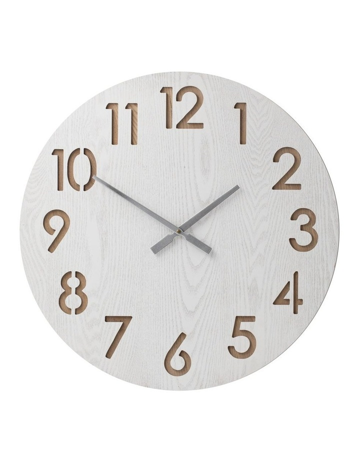 Henrik 60Cm Wall Clock - White image 1
