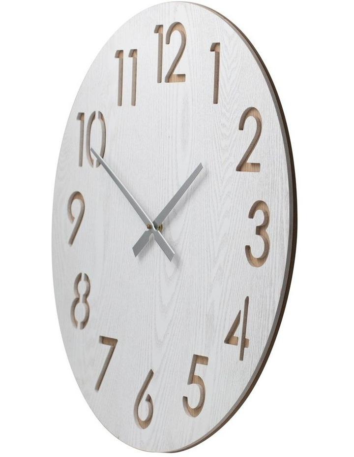 Henrik 60Cm Wall Clock - White image 2