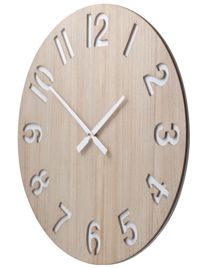 Henrik 60Cm Wall Clock - Natural image 2