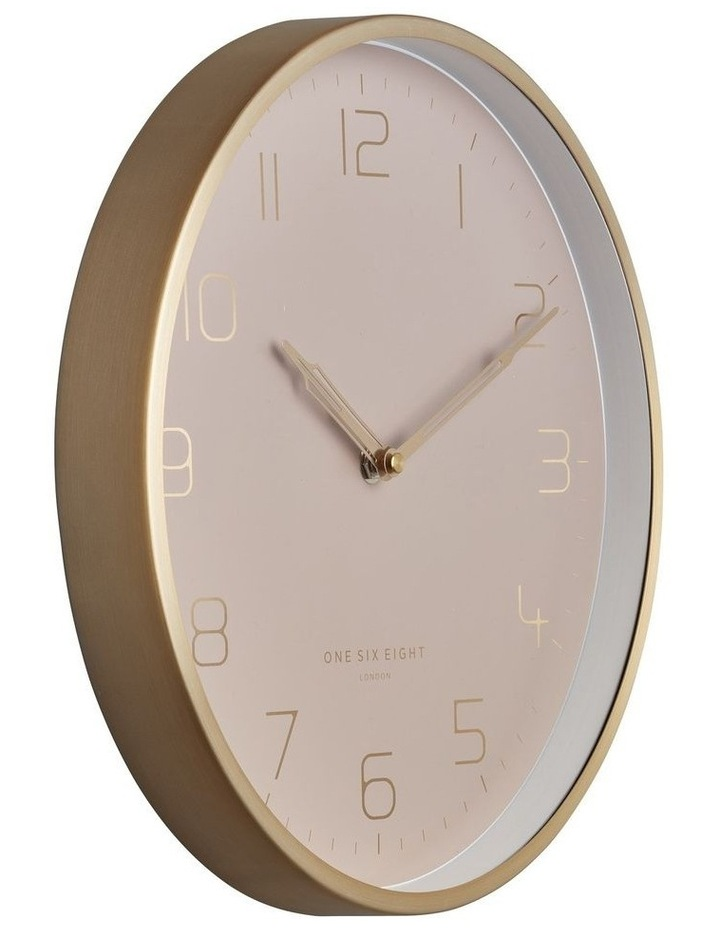 Lily 30Cm Dusty Rose Silent Wall Clock image 2