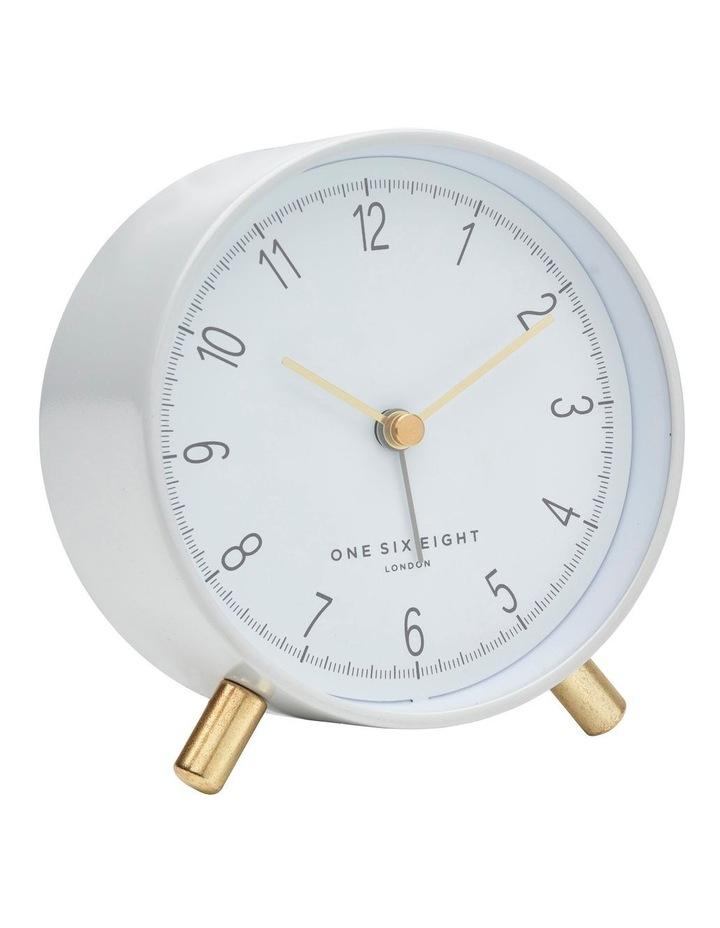 Hannah White Silent Alarm Clock image 1