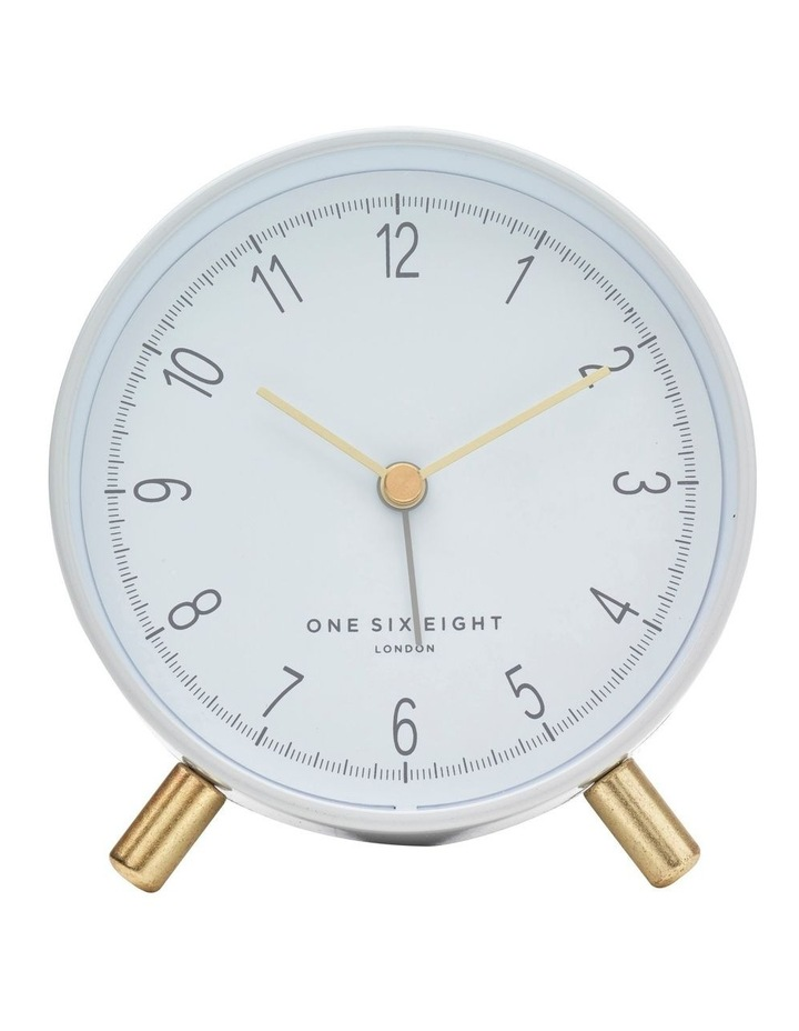 Hannah White Silent Alarm Clock image 2