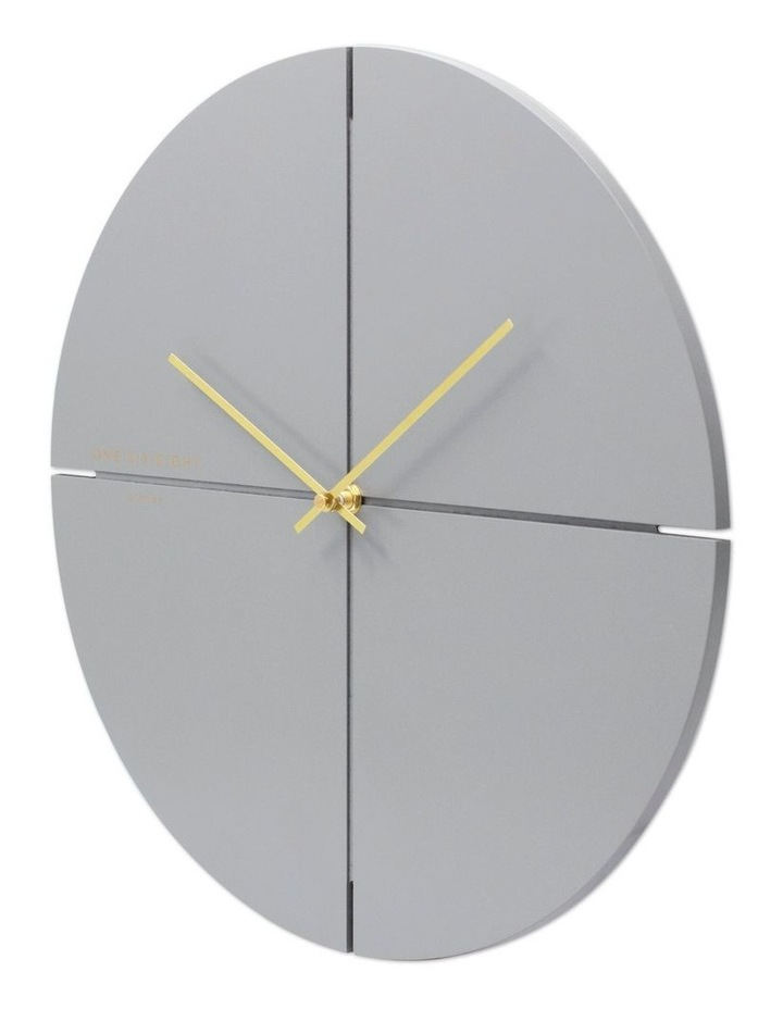 Liam 40Cm Cool Grey Silent Wall Clock image 2