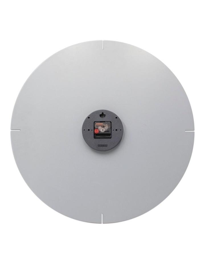 Liam 60Cm Cool Grey Silent Wall Clock image 3
