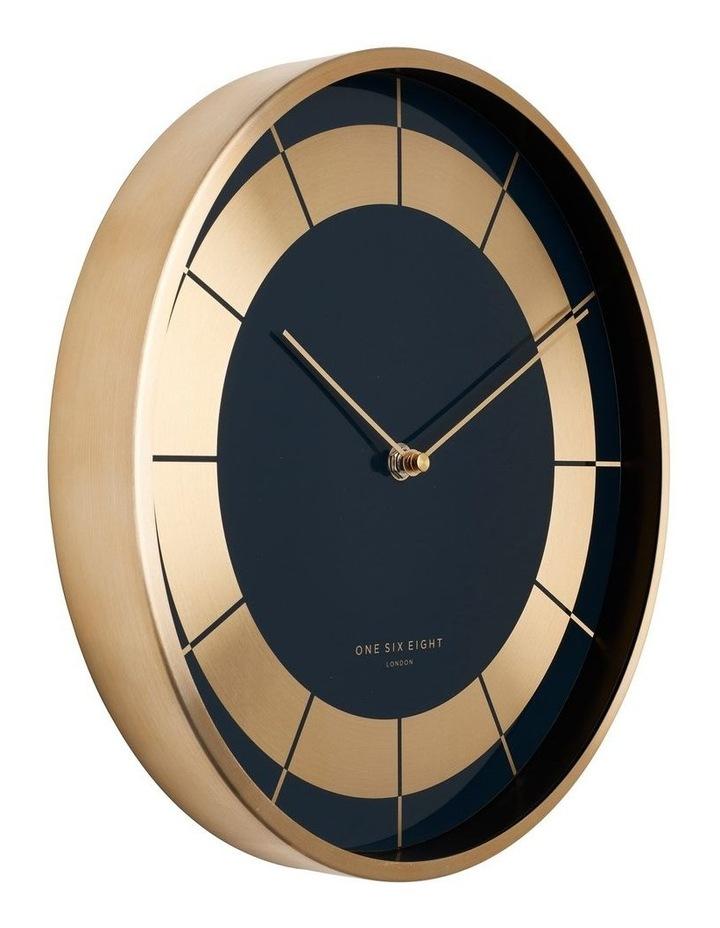 Arlo 30Cm Navy Blue Silent Wall Clock image 2