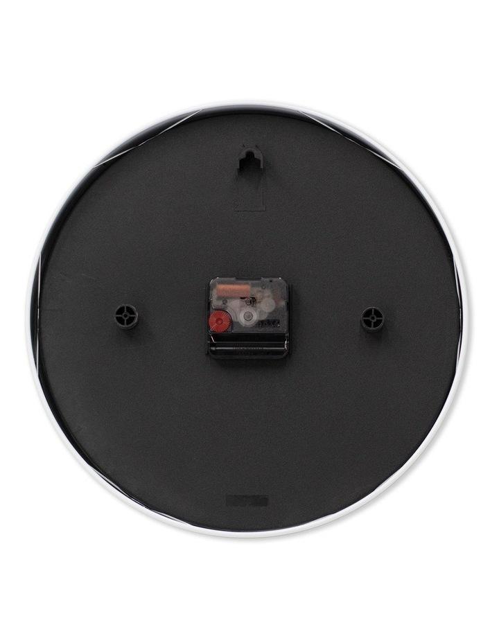 Maya 30Cm Charcoal Grey Silent Wall Clock image 3