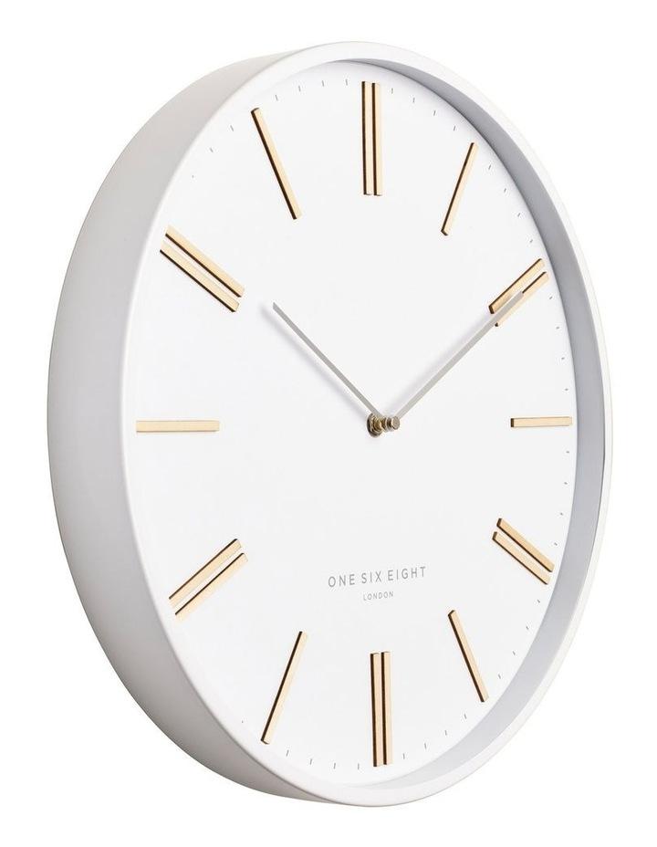 Esme 40Cm White Silent Wall Clock image 2