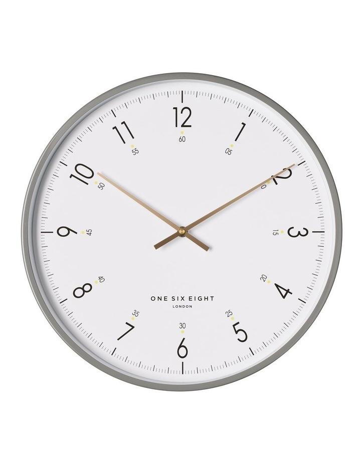 Elio 40Cm White Silent Wall Clock image 1