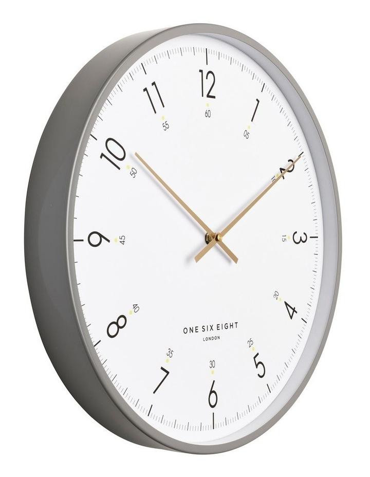 Elio 40Cm White Silent Wall Clock image 2