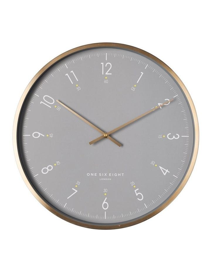Elio 40Cm Grey Silent Wall Clock image 1