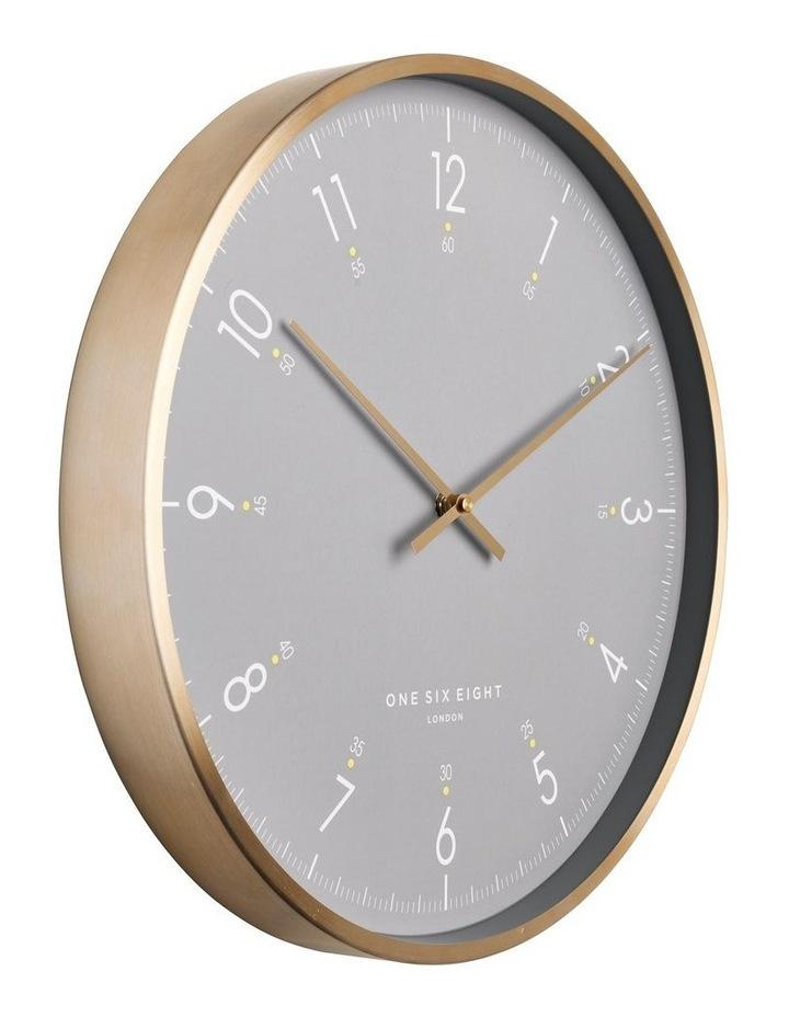 Elio 40Cm Grey Silent Wall Clock image 2