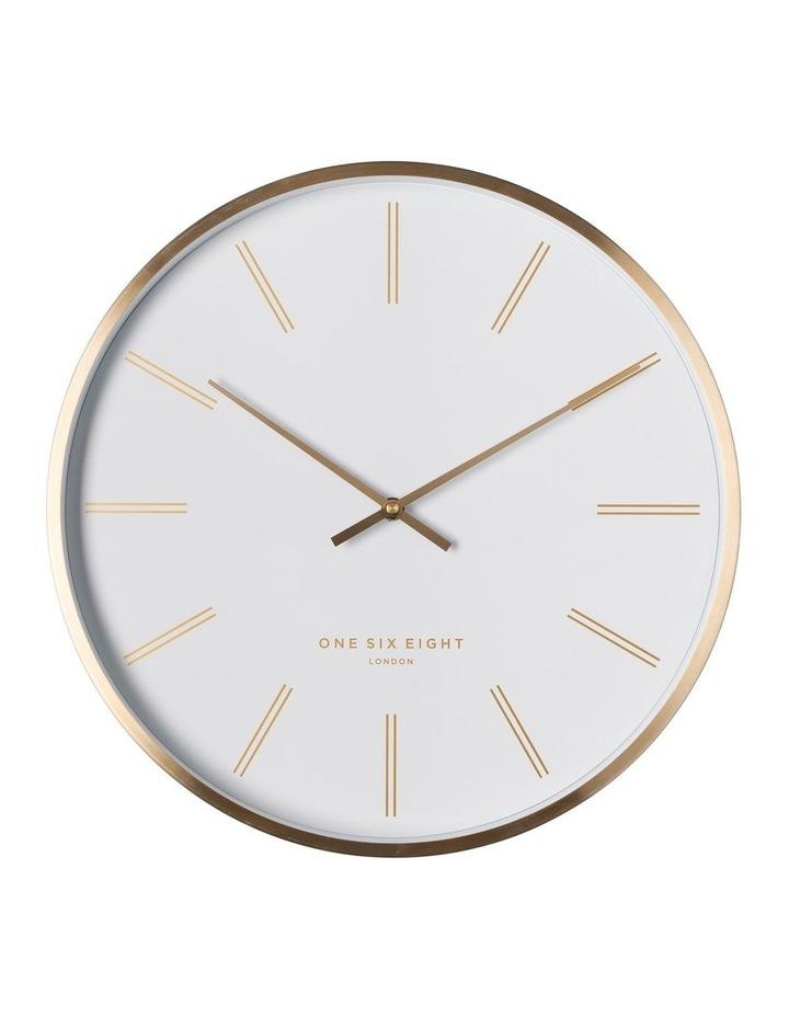 Otto 40Cm White Silent Wall Clock image 1
