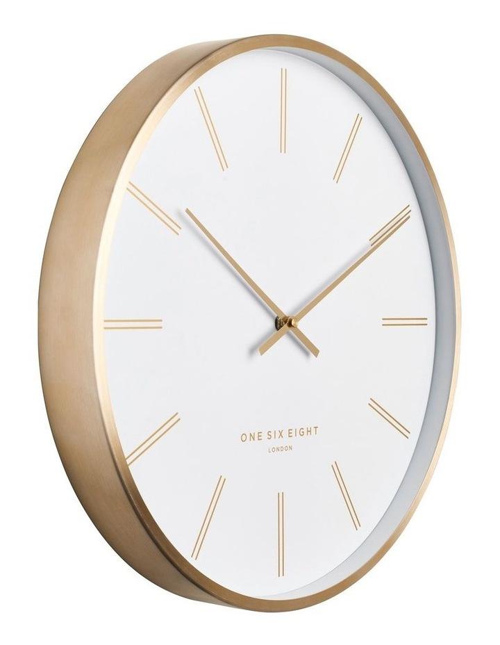 Otto 40Cm White Silent Wall Clock image 2