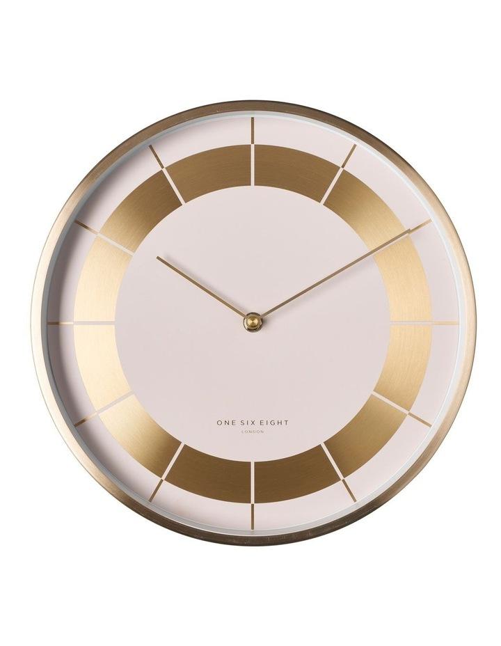 Arlo 30Cm White Silent Wall Clock image 1