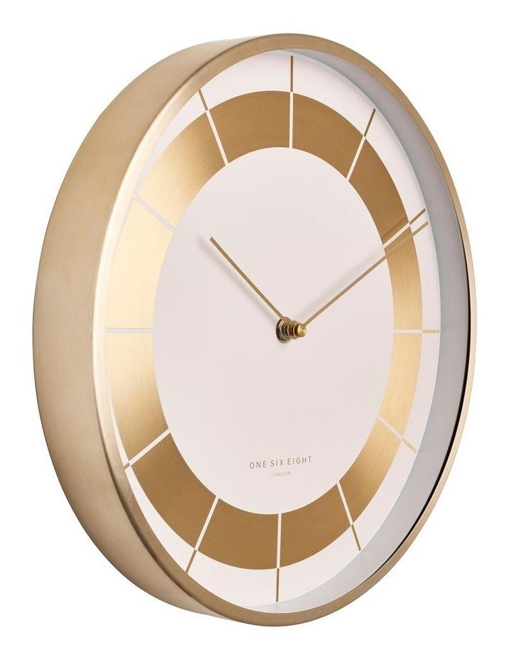 Arlo 30Cm White Silent Wall Clock image 2