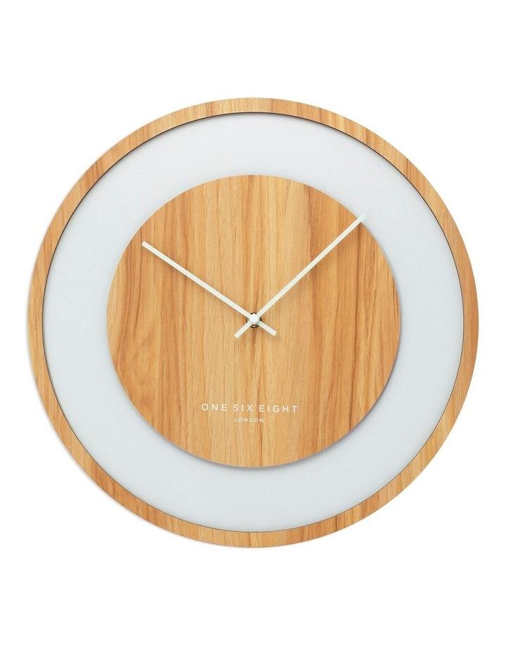 Emilia Natural 40Cm Silent Wall Clock image 1