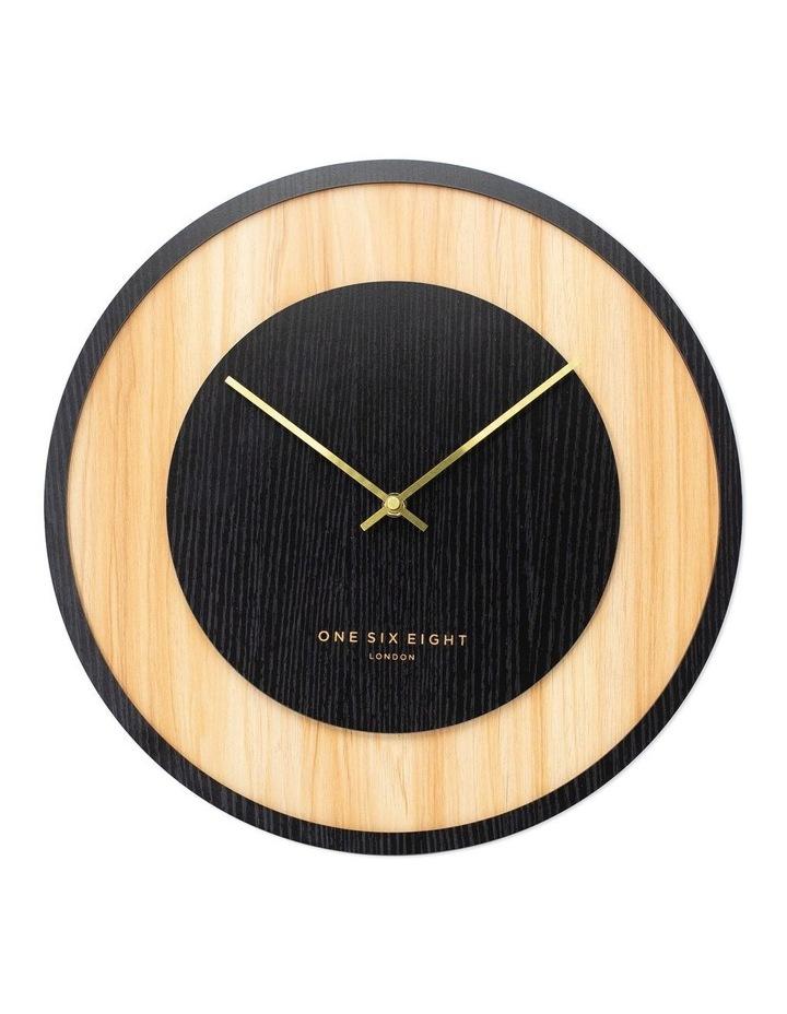 Emilia Charcoal Grey 40Cm Silent Wall Clock image 1
