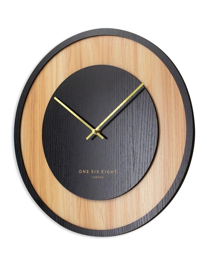 Emilia Charcoal Grey 40Cm Silent Wall Clock image 2