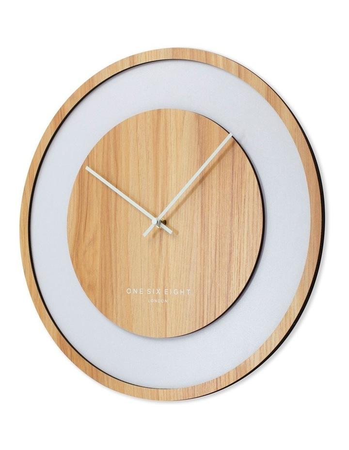 Emilia Natural 60Cm Silent Wall Clock image 2