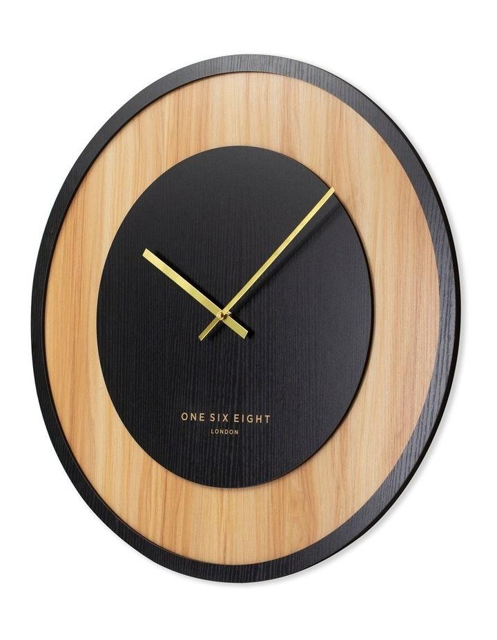 Emilia Charcoal 60Cm Silent Wall Clock image 2