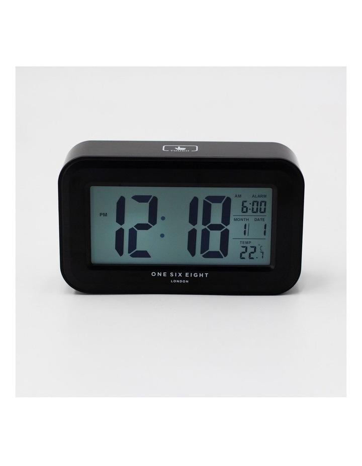 Rielly - Black Digital Rectangle  Alarm Clock image 1