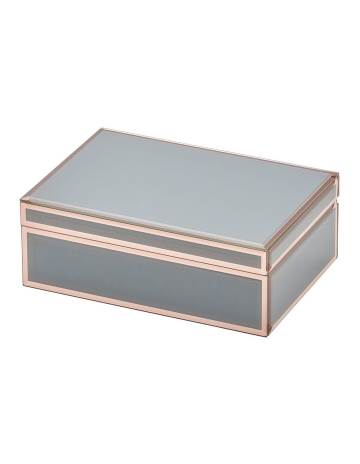 Florence Grey / Rose Gold Large Jewellery Box image 2
