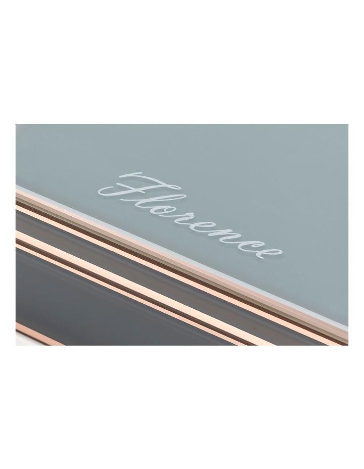 Florence Grey / Rose Gold Large Jewellery Box image 6