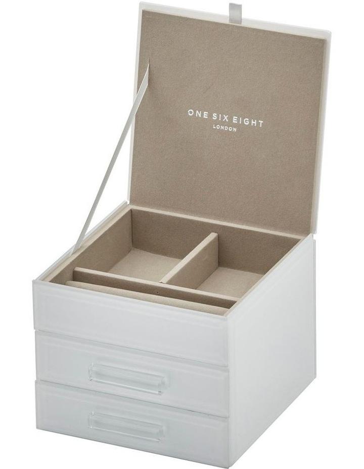 Gabriella White Small Jewellery Box image 3