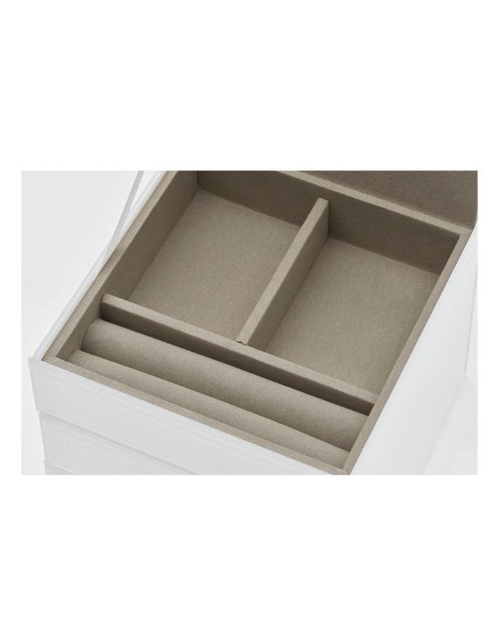 Gabriella White Small Jewellery Box image 5