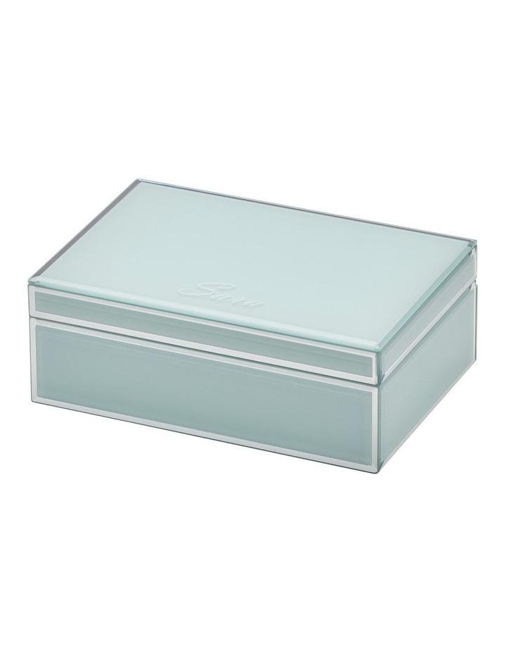 Sara Mint Large Jewellery Box image 2