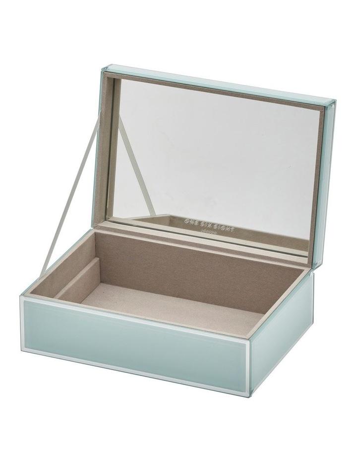 Sara Mint Large Jewellery Box image 4
