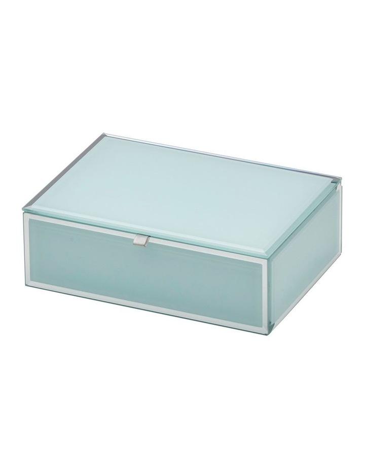Sara Mint Medium Jewellery Box image 1