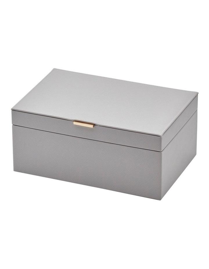 Rosie Cool Grey Large Jewellery Box image 2