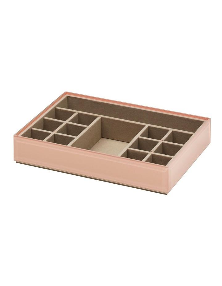 Stackable Jewellery / Makeup Box Set - Blush image 4
