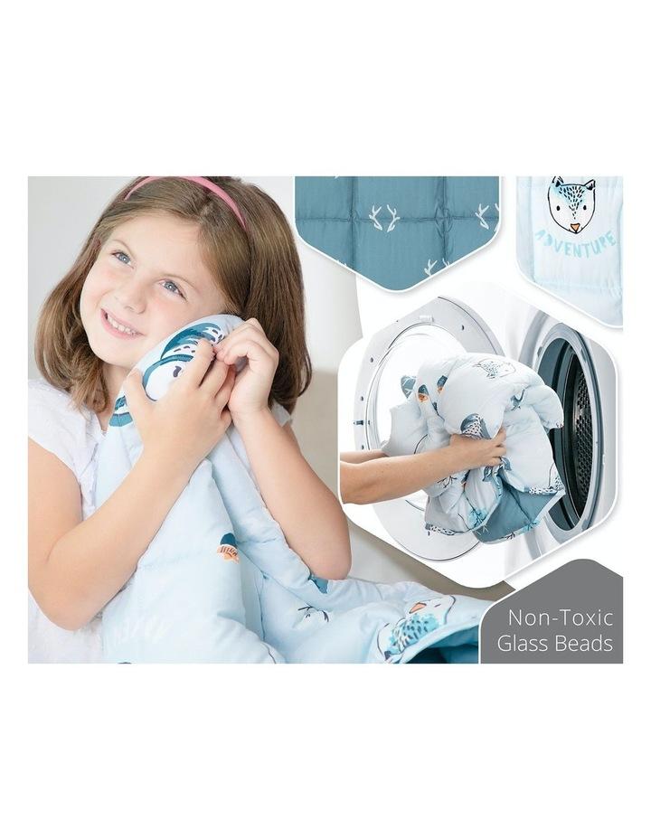 Kids Weighted Blanket  - Light Blue Calming Blanket - 2.5kg image 5