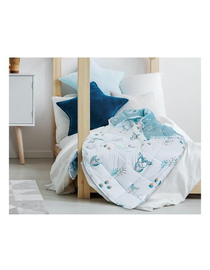 Kids Weighted Blanket  - Light Blue Calming Blanket - 2.5kg image 6