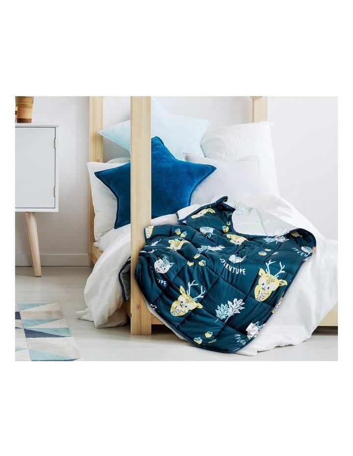 Kids Weighted Blanket - Blue Yellow Calming Blanket - 2.5kg image 6