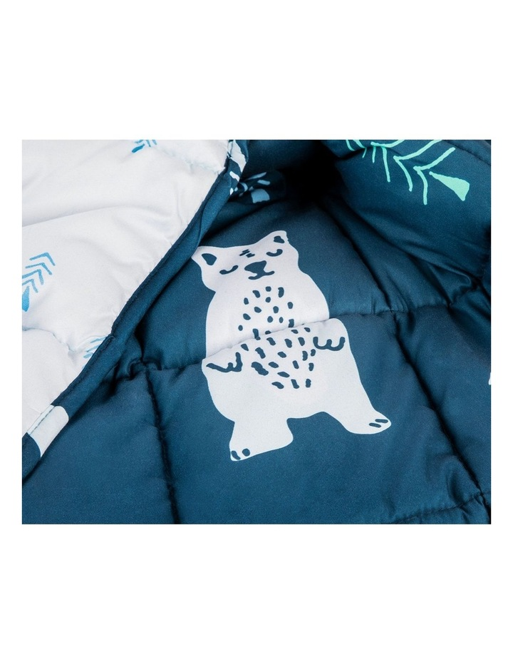 Kids Weighted Blanket  - Blue Calming Blanket - 2.5kg image 3