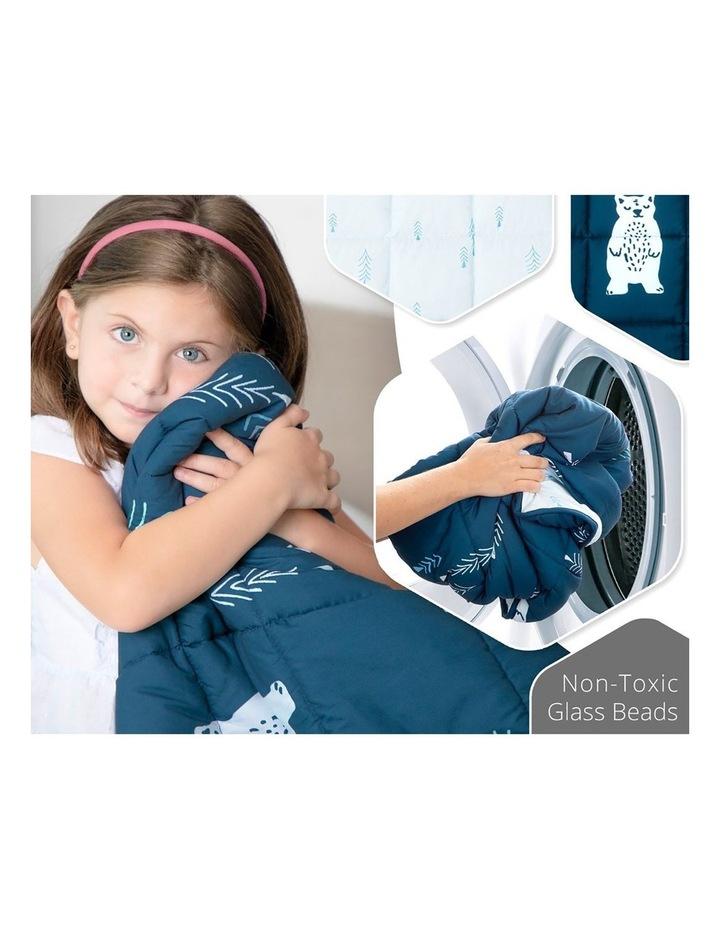 Kids Weighted Blanket  - Blue Calming Blanket - 2.5kg image 4