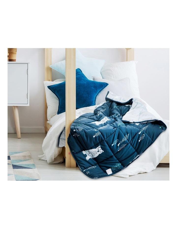 Kids Weighted Blanket  - Blue Calming Blanket - 2.5kg image 5