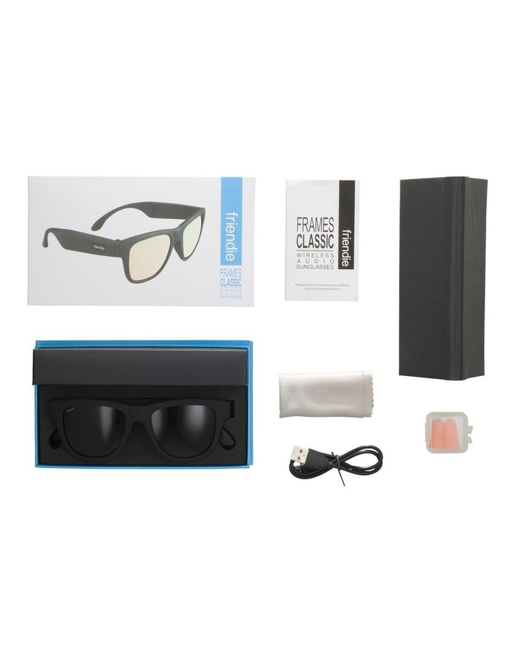 Frames Classic Stealth Black Polarised Lens (Audio Sunglasses) image 7