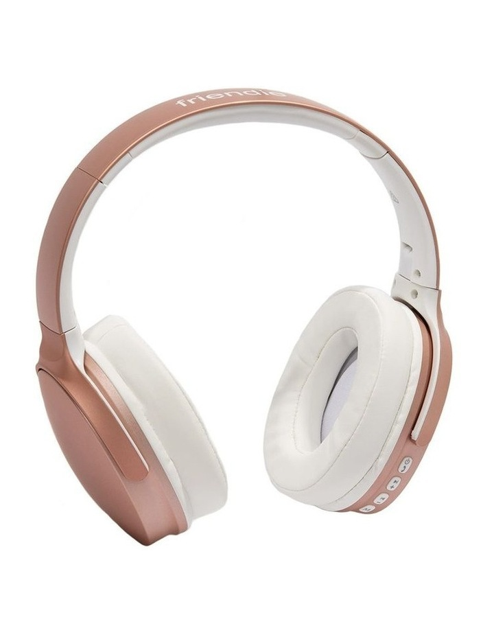 Air Aura Rose Gold (Over Ear Wireless Headphones) image 2