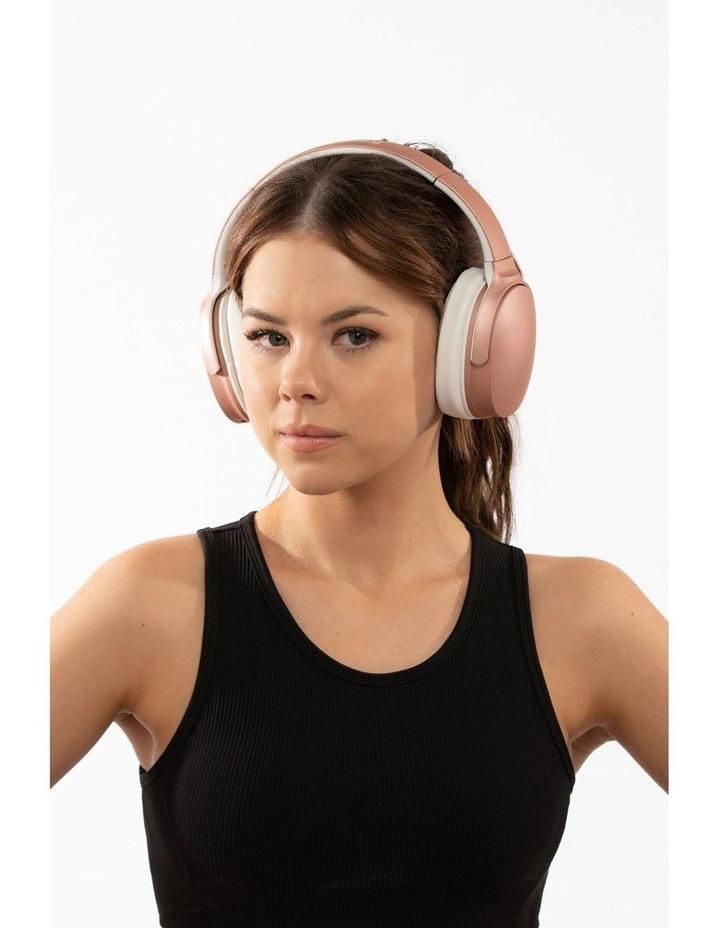 Air Aura Rose Gold (Over Ear Wireless Headphones) image 7