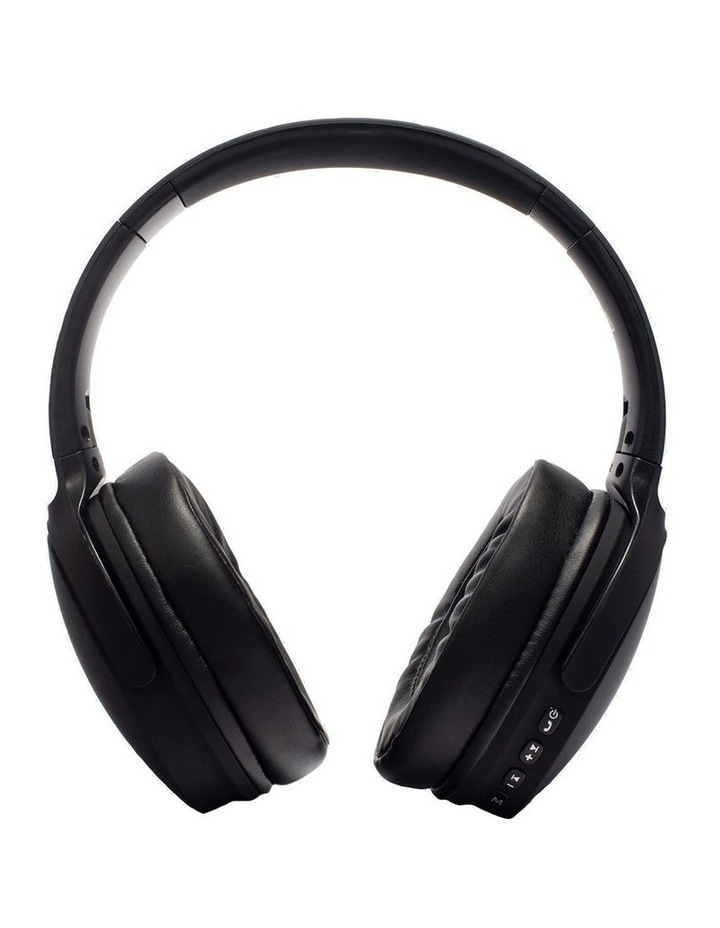 Air Aura Matte Black (Over Ear Wireless Headphones) image 3