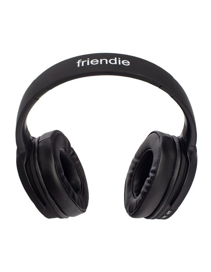 Air Aura Matte Black (Over Ear Wireless Headphones) image 4