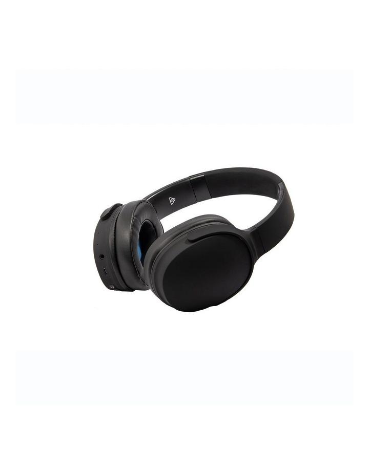 Air Aura Matte Black (Over Ear Wireless Headphones) image 5