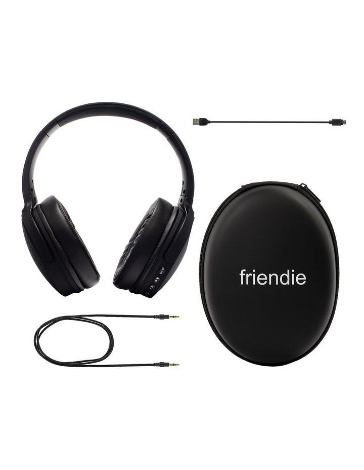 Air Aura Matte Black (Over Ear Wireless Headphones) image 6